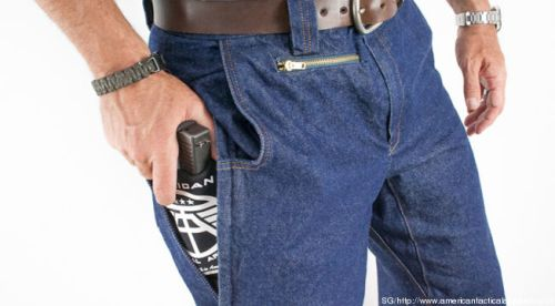 A special pocket for my concealed weapon!