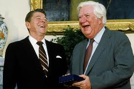 Reagan and O'Neil