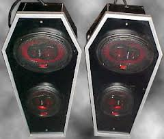 Coffin speakers