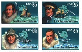 Arctic explorer stamps