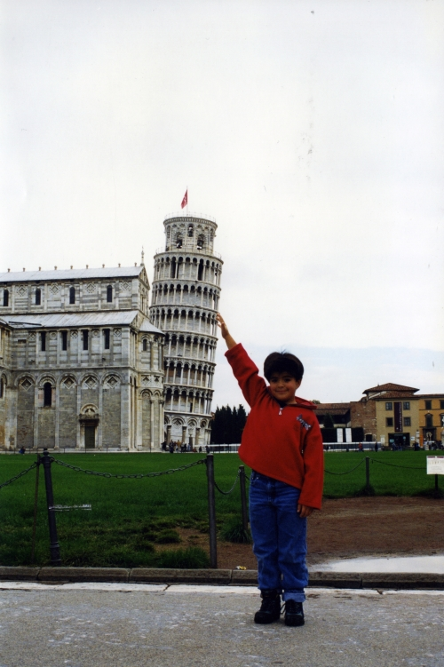 Holding up the Tower in 1999