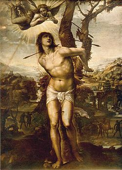 Saint Sebastian by Il Sodoma, c. 1525