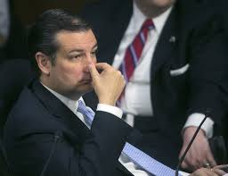 Senator Ted Cruz You'd think he was a Disgustologist instead of the nasty thing on the shoe