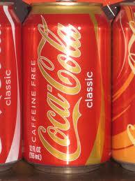 Caffeine-free Coke