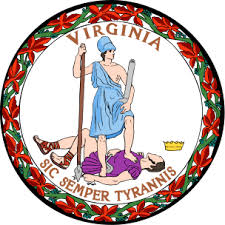 """Thus, Always, to Tyrants."" Virginia Got that Right (Google image)"
