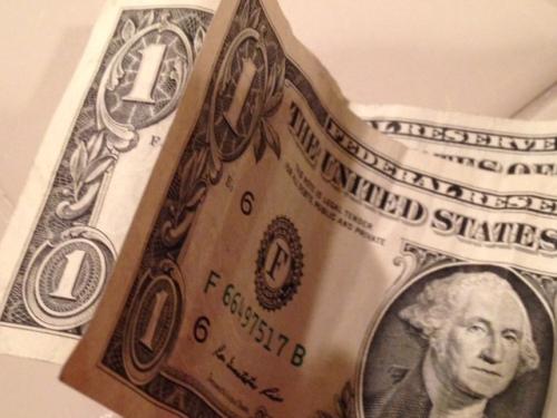 I've got TWO bucks!