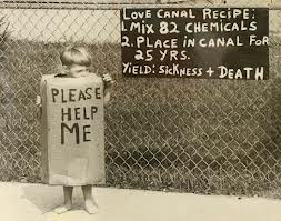 Love Canal, where Hooker Chemical buried 21,000 tons of toxic waste! (Google Image)