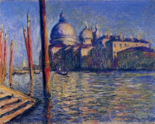 della Salute by Claude Monet.  He apparently liked Venice, too.