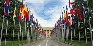 Flags of the United Nations, Geneva (Google Image)