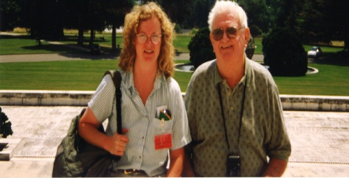 Dad and Me in Geneva, June 1998.  You have to guess which is me.