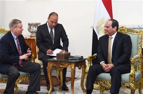 Lindsey Graham in Cairo