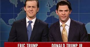 Eric and Don Jr - SNL