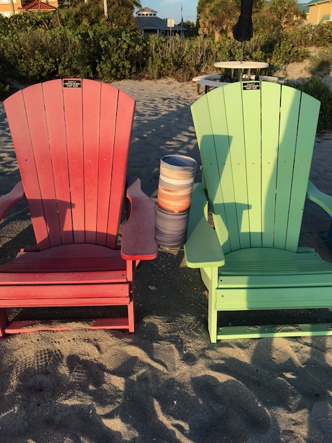 Bob in Adirondack chairs